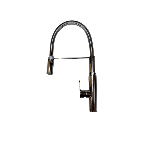 Chrome Pull Out Kitchen Mixer