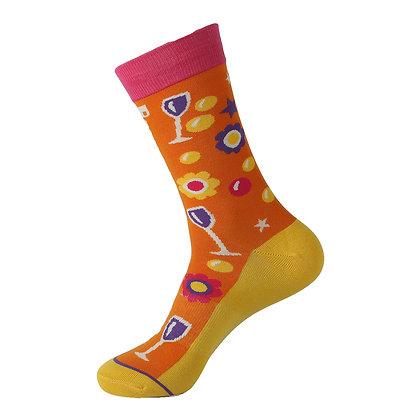 Funny Socks By Piña - Drinking Night