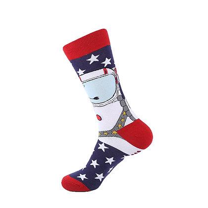 Funny Socks By Piña - Astro In Space