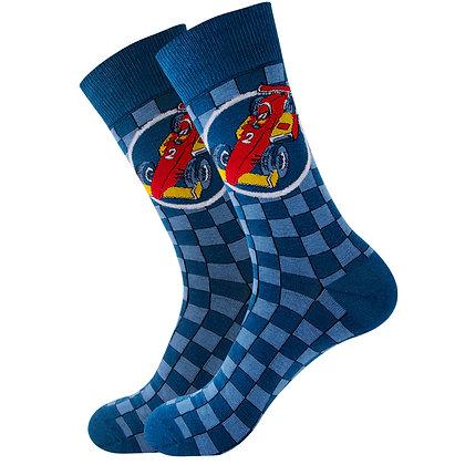 Funny Socks By Piña - Racing Chess