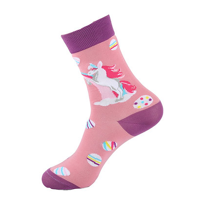 Funny Socks By Piña - Unicorn & Coockies