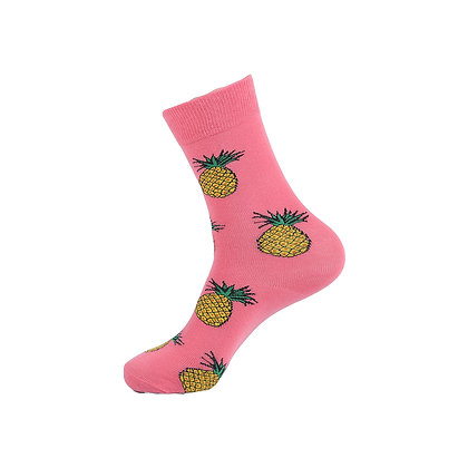 Funny Socks By Piña - Pink Pineapple