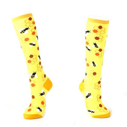 Funny Socks By Piña - Bees & Honey