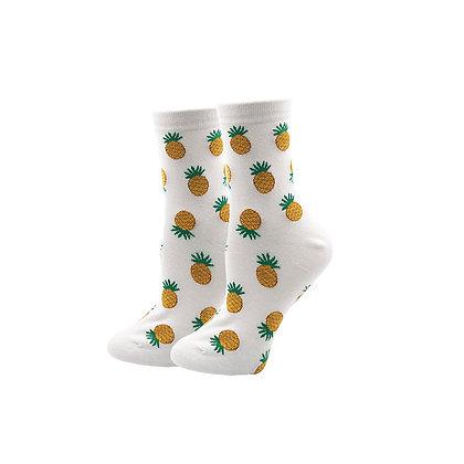 Funny Socks By Piña - White Pina