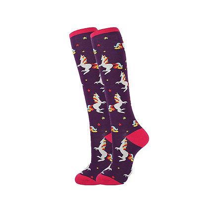 Funny Socks By Piña - Unicorn Circus