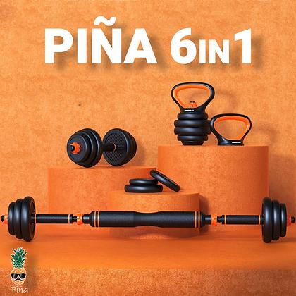 Piña - 6IN1 - סט משקולות