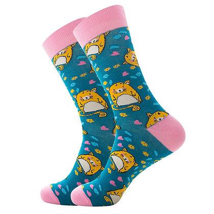 Funny Socks By Piña - Hamster Love