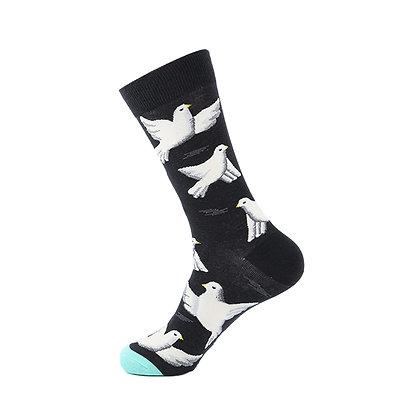 Funny Socks By Piña - Peace Bird