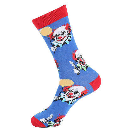 Funny Socks By Piña - Spooky Clown