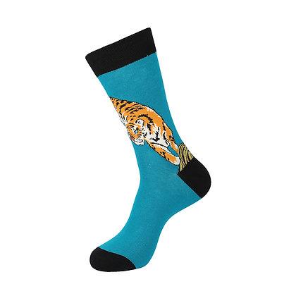 Funny Socks By Piña - Tiger Blues