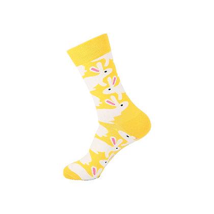 Funny Socks By Piña - Yellow Rabbit