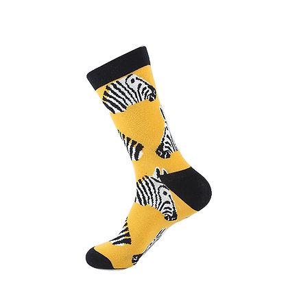 Funny Socks By Piña - Zebra