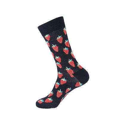 Funny Socks By Piña - Strawberry Fields