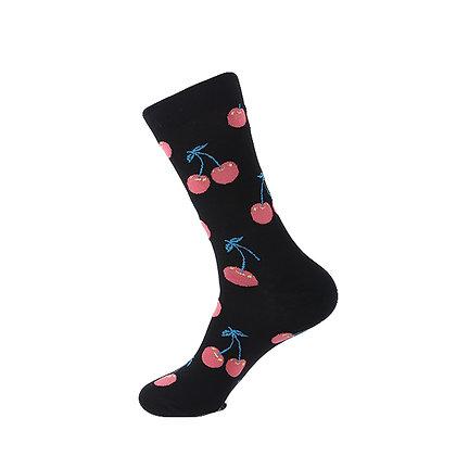 Funny Socks By Piña - Cherry Dark