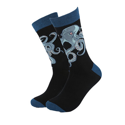 Funny Socks By Piña - Dark Octopus
