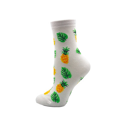 Funny Socks By Piña - Tropic White Pineapple