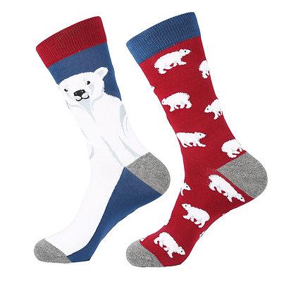 Funny Socks By Piña - Polar Bear