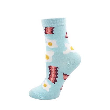 Funny Socks By Piña - Bacon n' Eggs