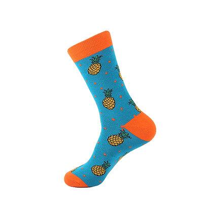 Funny Socks By Piña - Pineapple Blues