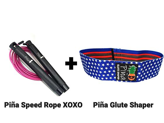 סט חיטוב - Piña Glute Shaper + XOXO Speed Rope