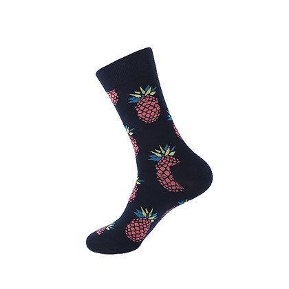 Funny Socks By Piña - Pineapple Darkness