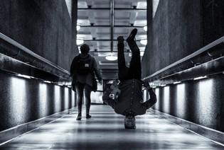Barbican headstand II