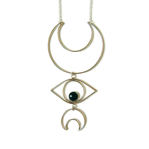 Moon & Eye Pendant