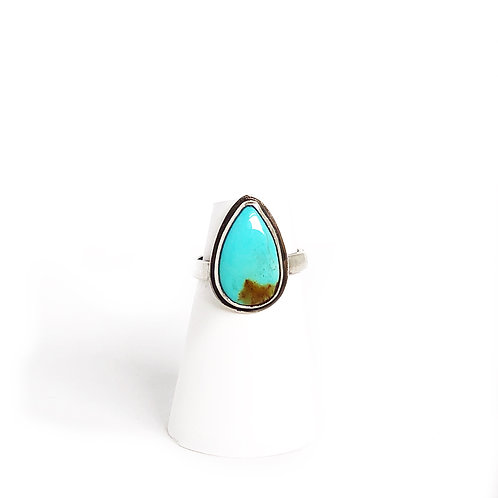 Turquoise Ring - 6 3/4