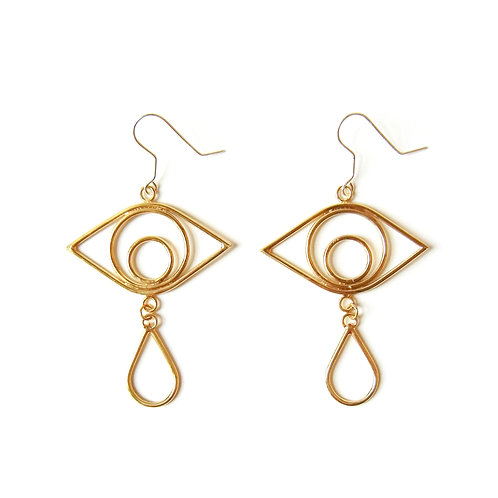 Crying Eye Earrings