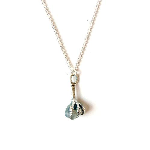Claw & Gem Necklace