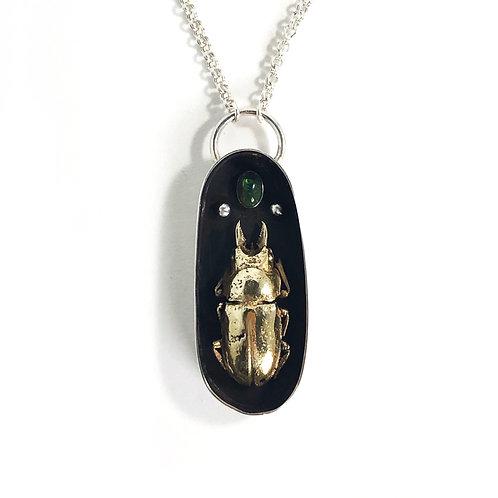 Beetle Pendant - medium