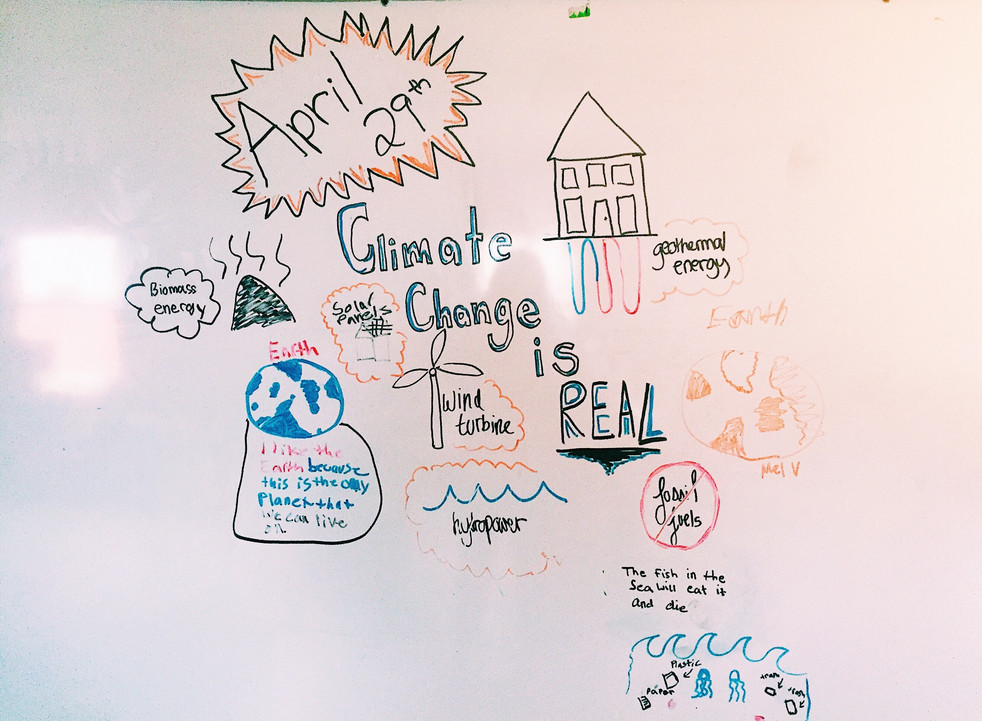 Mini-Lesson 3/People's Climate March Reflection