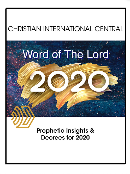 2020 Word of the Lord PropheticInsights & Decree