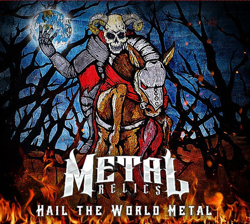 """Hail the World Metal - 2CD / """"Autographed on the jacket art"""" OR """"Not Autographed"""