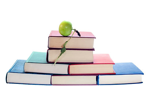 books, apple, learning, knowledge, reading, language, speech pathology, metphd, mary-ellen thompson
