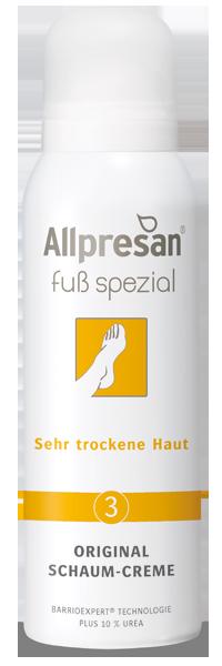Fuß spezial Schaum-Creme No3 -  Sehr trockene Haut, 125 ml