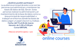 Curso 20764 Administering a SQL Database Infrastructure