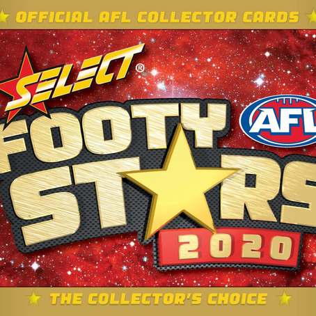 SOLD - Select Footy Cards Stars 2020