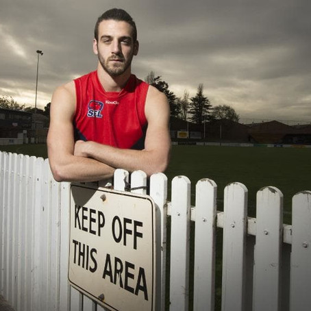Bentleigh Football Club's Dimitri Petrakis speaks out to stop gay slurs on footy field