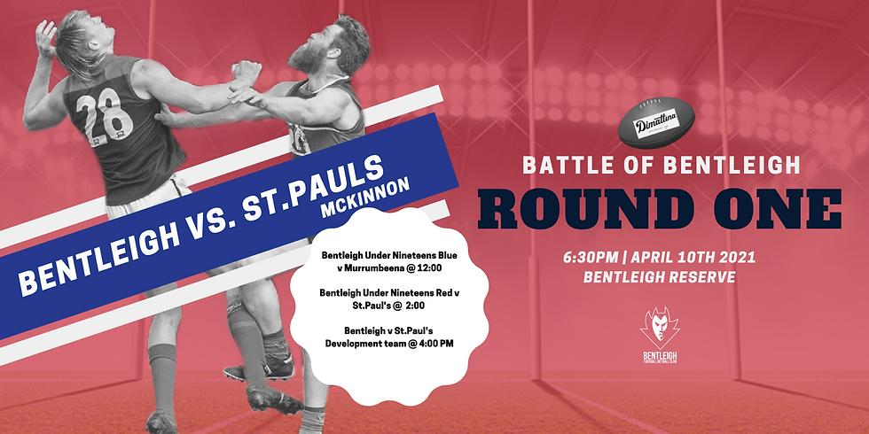 Bentleigh Derby: Round One