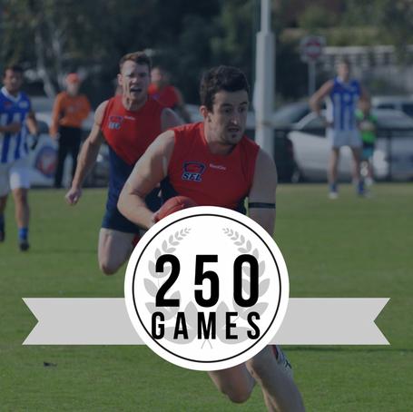 Luke Morrison's 250th Game