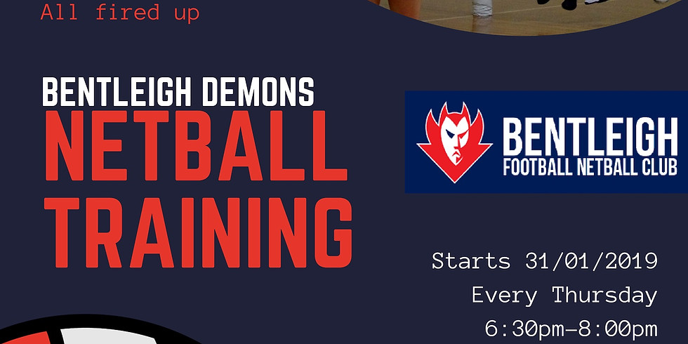 Netball training begins