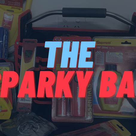 SOLD - The Sparky Bag