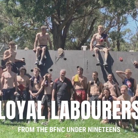 SOLD - Loyal laborers - BFNC Under Nineteens