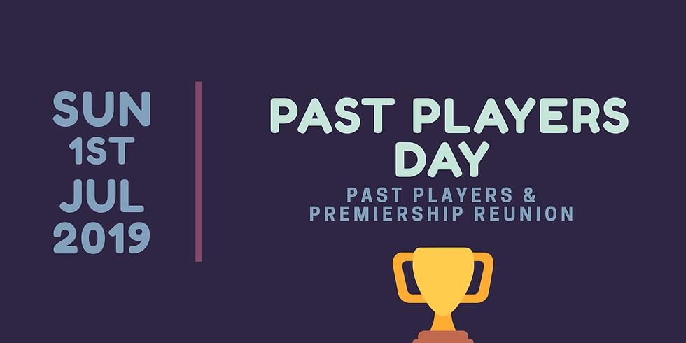 Past Players & Premiership Reunion Day