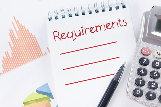 Requirements - Financial accounting stoc