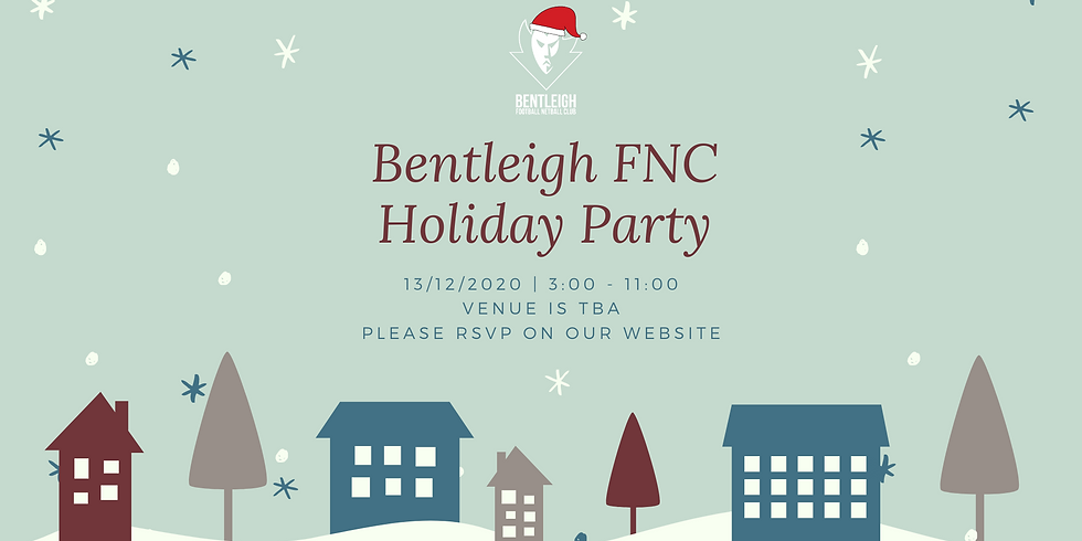 Bentleigh FNC Holiday Party
