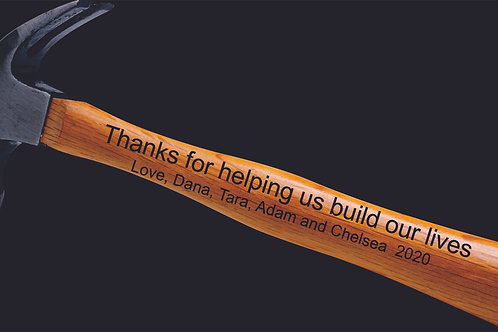 Thanks For Helping Us Build Our Lives