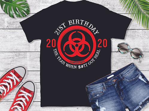 BIRTHDAY - BIO HAZARD SYMBOL