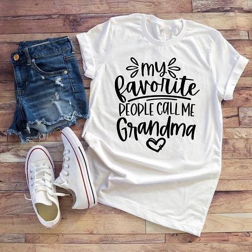My Favorite People Call Me Grandma